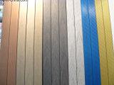 Decking en bois composite en bois Bicolor avec CE, Fsc, SGS, certificat