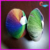 Filato fantasia che lavora a maglia il filato di lana di Austrial