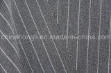 Tessuto a strisce di trama di stirata T/R, 65%Polyester 33%Rayon 2%Spandex, 250GSM