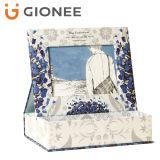 Boîte cadeau de pliage de papier personnalisé avec cadre photo