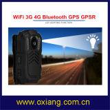 WiFi 4Gの警察GPS GPRS Bluetoothで構築される身につけられるボディカメラ