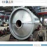 Neumático 2016 para engrasar pirolisis y la máquina combinada Distillaiton