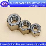 Noix 316 de l'acier inoxydable 304 du prix bas DIN934 DIN6923
