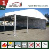 ガラス壁の玄関ひさしのイベントのテントが付いているArcum党テント