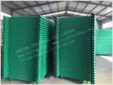 De schilderende Groene Op zwaar werk berekende Ladders van de Steiger van het Type van Stutsel