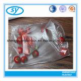 Полиэтиленовый пакет HDPE прозрачный подгонянный напечатанный для еды