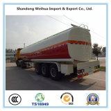 De China 40000L de gasolina del depósito acoplado semi para las ventas