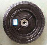 8X2 인치 잔디 깍는 기계 플라스틱 바퀴