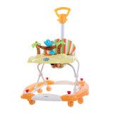 Seul marcheur de bébé de cheval d'oscillation de modèle avec le toit