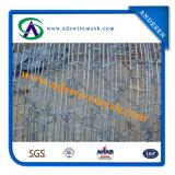 高品質によって電流を通される有刺鉄線