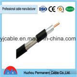 L'Ethernet rapide expédie le câble souple avec le câble coaxial de liaison RG6, câble de Rg59 CCA