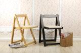 Festes hölzernes Falte-Stuhl-Wohnzimmer sitzt Kaffee-Stühlen vor (M-X2059)