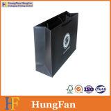 Schwarzer Drucken-Punkt-verpackender Papieruvbeutel mit kundenspezifischem Firmenzeichen