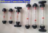 Измеритель прокачки расписание дежурств воды воздуха ротаметра пластичного счетчика- расходомера фланца жидкостный