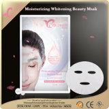 Máscaras faciais da folha do colagénio dos produtos de beleza