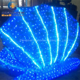 Underwater Theme Park를 위한 아크릴 LED Pearl Sea Clams