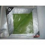 Toutes les fins de couvrir la bâche de protection PE Bâche tissé abris en plastique