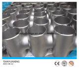 Naadloos Recht ANSI ASME van het roestvrij staal 347H T-stuk ASTM