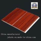 Mittlere Nut leichte PVC-Panel-Dekoration-wasserdichtes Material