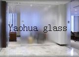 Porta do vidro do gabinete de parede/chuveiro/vidro geado