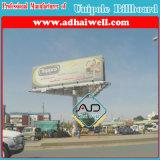 Três Lados por imersão a quente galvanizado Estrutura Publicidade Billboard