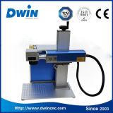 máquina da marcação do laser da fibra 20With50W para a gravura do animal de estimação do metal