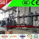까만 엔진 기름 증류 설비 또는 기초 기름 증류법 기계