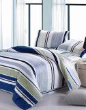 Jogo 100% triplo do fundamento da alta qualidade do algodão de matéria têxtil para o jogo do fundamento da tampa do Duvet do Comforter da HOME/hotel