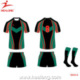 Desgaste uniforme del deporte del rugbi de encargo de Jersey del rugbi de la sublimación