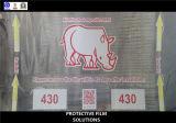 Feuille protectrice pour le film d'extension composé en plastique de plaque