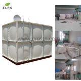 Serbatoio flessibile montato del serbatoio dell'acqua del filtrante di acqua di GRP FRP