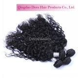 O cabelo humano brasileiro de Remy empacota pacotes naturais do cabelo do Virgin da onda