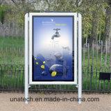 Het buiten Metaal Polen die van het Frame van het Aluminium van Advertenties van de LEIDENE Lamp van de Strook Backlit van de Film Lichte Vakjes van het pp- Document scrollen