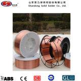 Kupferner überzogener Schweißens-Draht-/CO2-Schweißens-Draht Er70s-6