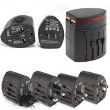 Universalenergien-Adapter des arbeitsweg-Zwischenstecker-AC/USB