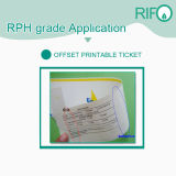 Rph-120 Synthetische Film geschikt om gedrukt te worden BOPP voor de Brochures van Markeringen met RoHS