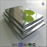 金およびSilver Mirror Aluminium Composite Panel