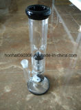 Tubo de agua del tubo de cristal de Pyrex con la impresión