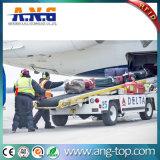 Monza4 caso de la etiqueta RFID impermeable adhesivo para el seguimiento de la bolsa de aeropuerto