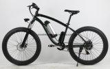 """ほとんどのPopular26 """"販売のための48V 500W山の練習の脂肪質のタイヤの電気バイク"""