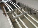 Extrusora de faixa de borda de fita de PVC de cor sólida em madeira