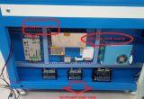 máquina a laser gravura a laser de CO2 para madeira, mármore, de vidro
