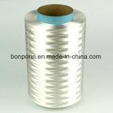 Tagliare il filato coperto fibra resistente di UHMWPE per gli anti guanti del taglio (colore rosso di uA)