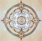 Fiore che intaglia mosaico di marmo (MSK-004)