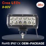 36W LEIDENE van CREE Lichte Staaf met Ce RoHS voor Jeep