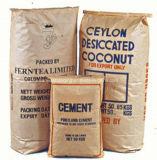 Sacs en papier industriels de métier de soupape pour la colle, nourriture, substance d'alimentation
