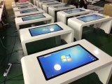 지능적인 테이블 1개의 간이 건축물 Touchscreen 테이블 간이 건축물에서 대화식 접촉 스크린 전부