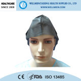 Wegwerfchirurgischer Doktor Cap Handmade Medical Cap des vliesstoff-PP/SMS