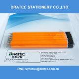 Crayons en bois Hb, Crayons en néon Hb avec extrémité DIP