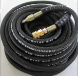 """SAE 100R1 3/4"""" de flexible de pression hydraulique"""